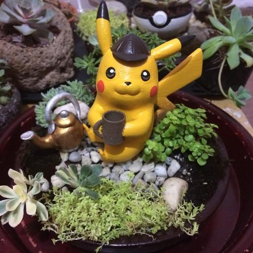 Télécharger fichier imprimante 3D Détective Pikachu, kirinazul