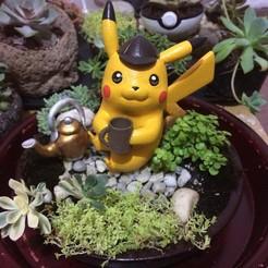Download STL file Detective Pikachu • 3D printer design, kirinazul
