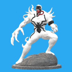 Download 3D print files ANTI-VENOM STATUE (IN PARTS VERSION) , q54332