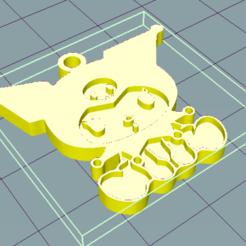 Download 3D printer designs Kuromi keychain, susuwatari