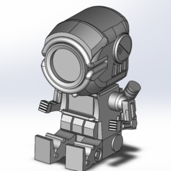 Descargar STL Pathfinder Apex Legends Big Head, TRASS_3D