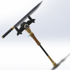 Capture2.PNG Download STL file fortnite pickaxe for ninja sushi • 3D print object, TRASS_3D