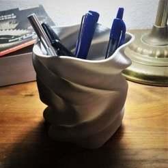 Télécharger fichier STL gratuit Vase Sinosoïdal en spirale, cudderbup