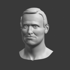 HEad.png Download STL file Mike Pence • 3D printable template, jonathanworkevans