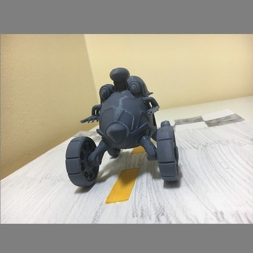 IMG_4047.JPG Download free STL file Racing turtle (MOVABLE WHEELS) • Object to 3D print, jonathanworkevans