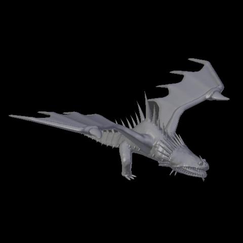 Descargar modelo 3D Skrill (Cómo entrenar a tu dragón), jonathanworkevans