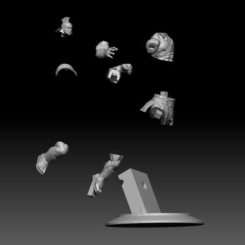 12.jpg Download STL file Hulk 3D print • Model to 3D print, mark_nato