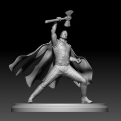 Descargar archivo 3D thor model 3d, mark_nato