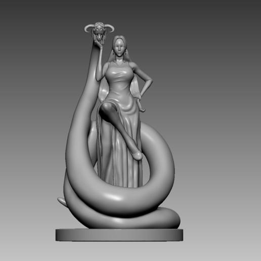 Descargar diseños 3D Boa Hancock, mark_nato