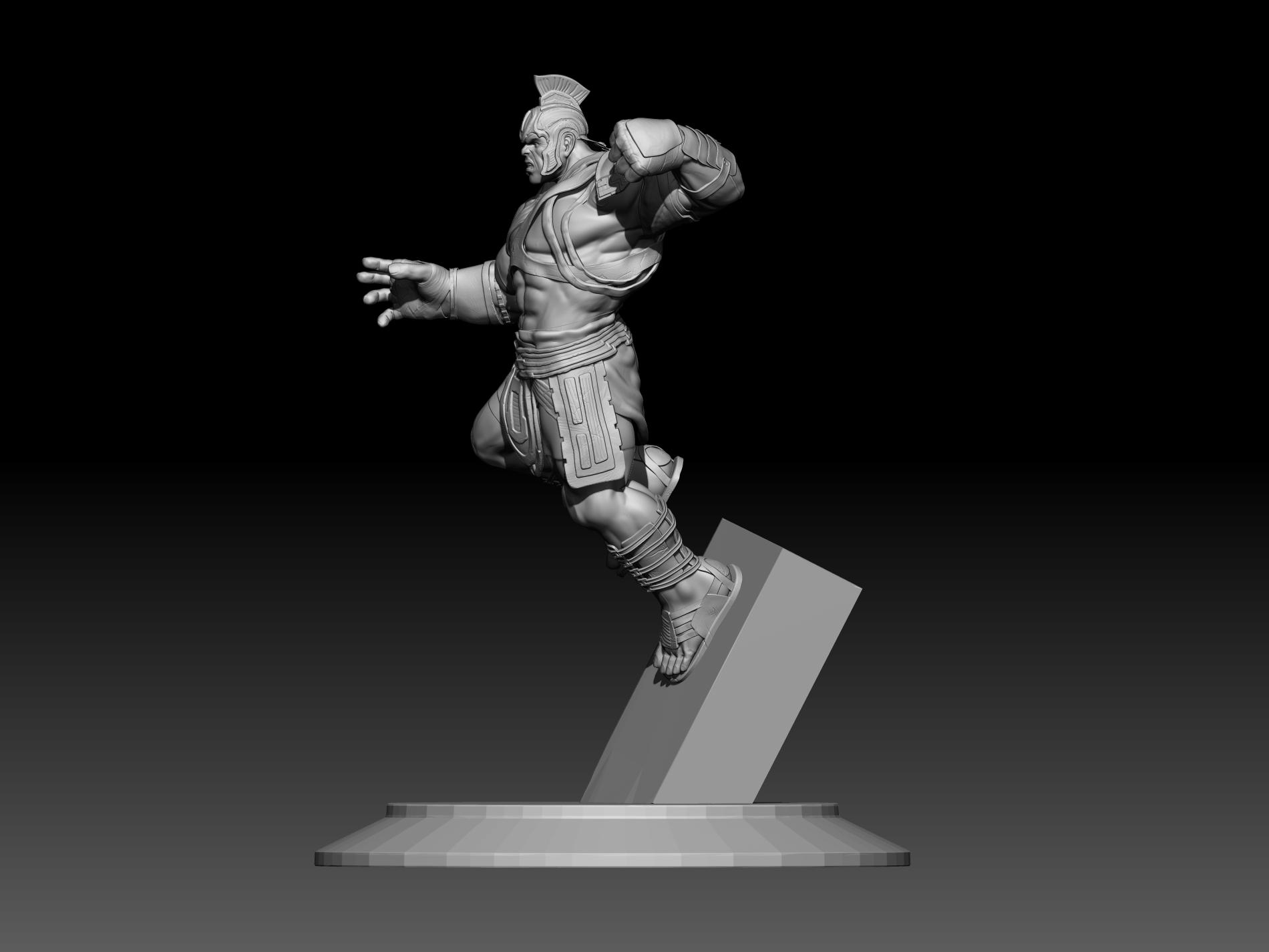 10.jpg Download STL file Hulk 3D print • Model to 3D print, mark_nato