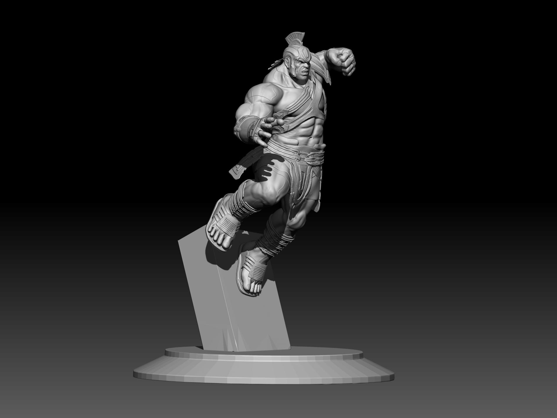 9.jpg Download STL file Hulk 3D print • Model to 3D print, mark_nato
