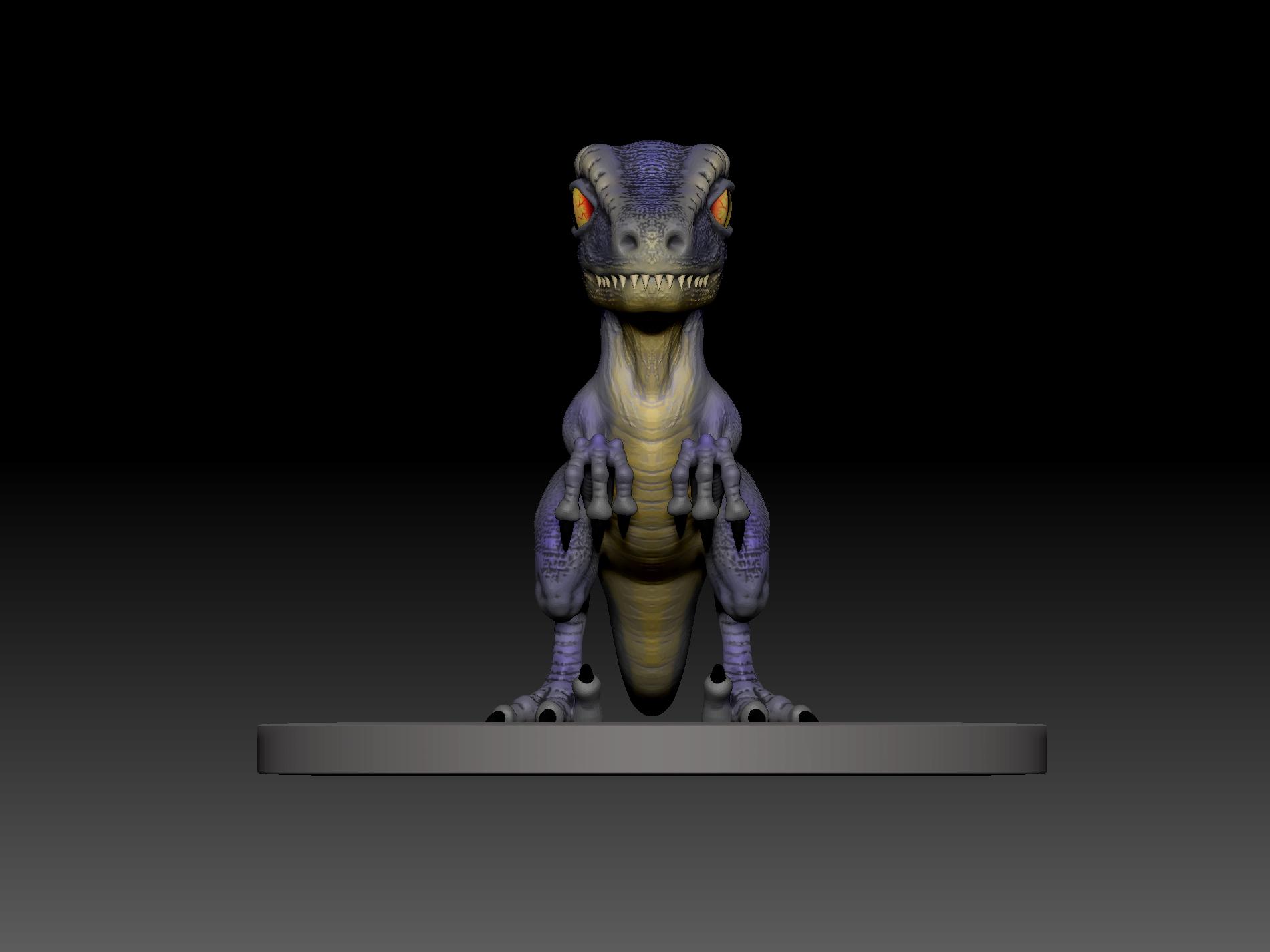 5.jpg Télécharger fichier STL gratuit dino blue 3d print • Design imprimable en 3D, mark_nato