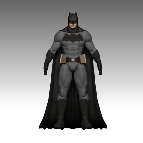 Descargar STL gratis Batman, mark_nato