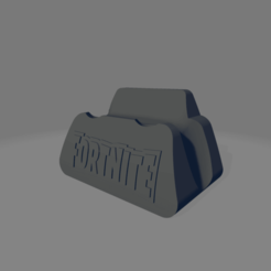 stand logo fornite.png Download STL file PS4 Fornite stand • Model to 3D print, kamiwey