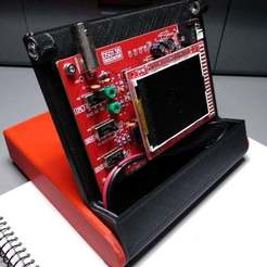 Descargar diseños 3D gratis Caja de soporte Osciloscopio DS0138, 3Dadicto