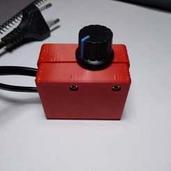 Descargar archivo 3D gratis Caja para Regulador de Voltaje AC 50V-220V 2000W, 3Dadicto