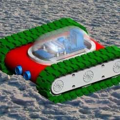 Descargar archivo 3D gratis Diy RC Controlador de tanque bluetooth, 3Dadicto