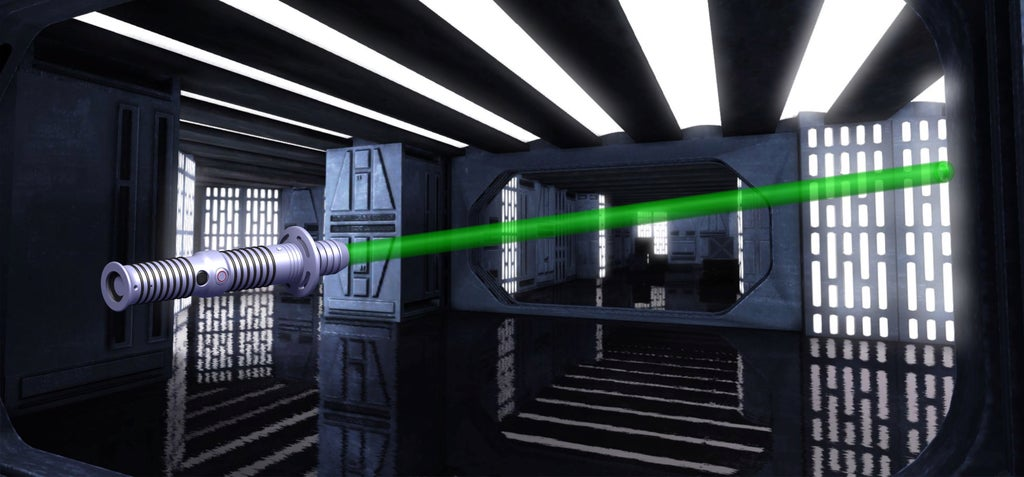 Download free 3D printer designs Lightsaber with lights and sounds