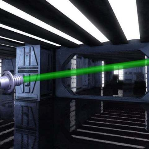 Download free 3D printer designs Lightsaber with lights and