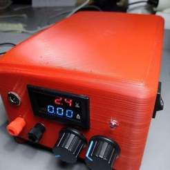 Descargar modelos 3D gratis Fuente de alimentación ajustable 0 - 30V y 0 - 3A, 3Dadicto