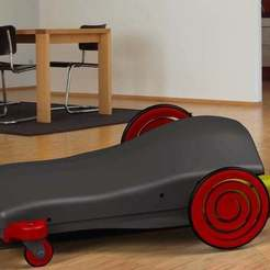 Descargar modelos 3D gratis Carro seguidor de línea con línea negra extraíble, 3Dadicto