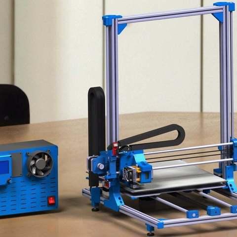 Imprimir en 3D gratis Impresora 3D de gran volumen, 3Dadicto
