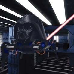 Descargar archivos 3D gratis Robot Darth Vader cuadrúpedo, 3Dadicto