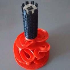 Descargar diseños 3D gratis Máquina motorizada de mármol, 3Dadicto