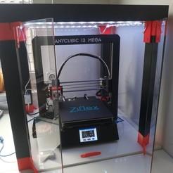 Télécharger fichier 3D gratuit Méga enceinte Anycubic i3 (tableau IKEA LACK), flupsiflo