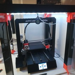 Download free 3D printer designs Temperature Sensor Mount Waterdrop Design, flupsiflo