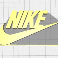 logonike1.PNG Download STL file Nike logo • 3D printer object, KeydonKDN