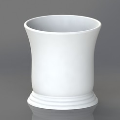 Coffee cup.JPG Télécharger fichier STL Tasse à expresso • Objet pour impression 3D, TheCADesigner