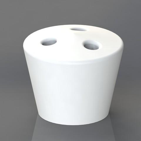 Descargar modelos 3D para imprimir Portacigarrillos 3 agujeros, TheCADesigner