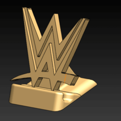 106455910_195610488554574_7411281982725629151_n.png Download STL file WWE Phone holder • 3D printer template, diegoccq