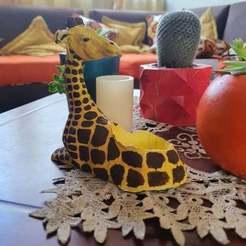 120107147_984301482048776_8912545724750096966_n.jpg Télécharger fichier STL Moule pour pots en ciment en forme de girafe • Design pour impression 3D, diegoccq