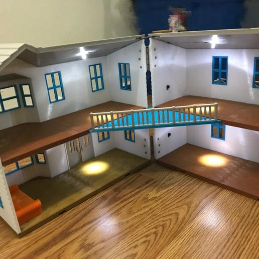IMG_9883.JPG Download free STL file Doll House, 400x380mm • 3D print model, cliffang83