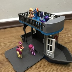 Download free 3D printer designs Doll Boat House, cliffang83