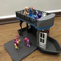IMG_1076.JPG Download free STL file Doll Boat House • 3D print design, cliffang83