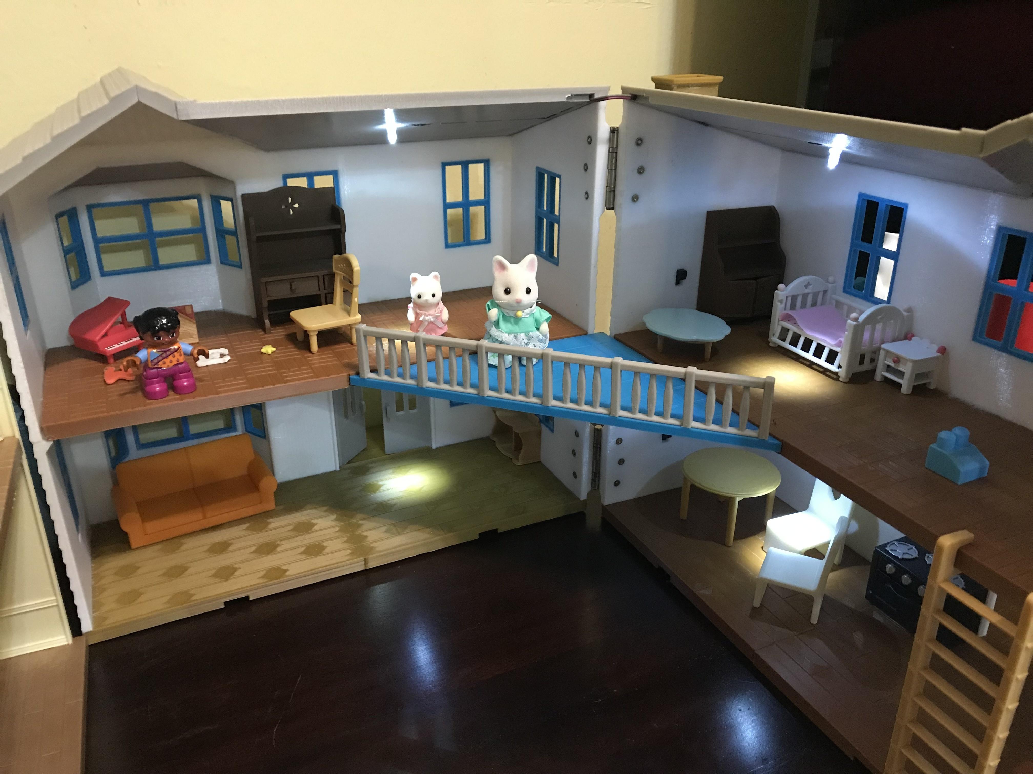 IMG_0629.JPG Download free STL file Doll House, 400x380mm • 3D print model, cliffang83