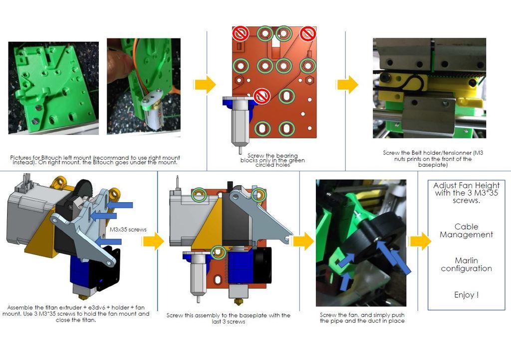 4e34524bac612a54e4fb2417a3413d74_display_large.JPG Download free STL file ANET A8 E3DV6 Titan Direct Drive X Carriage • 3D printer object, Richard90
