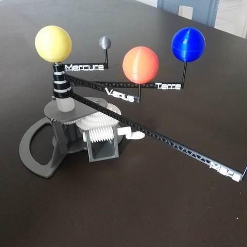 Download free 3D printing models Inner Solar System, Richard90
