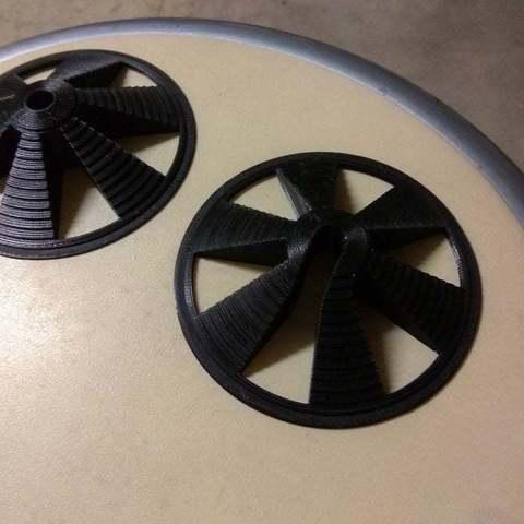 Télécharger fichier STL gratuit Adaptateur de bobine Ultimate Remix filetage M8 jusqu'à 80mm de diamètre intérieur • Objet à imprimer en 3D, Richard90