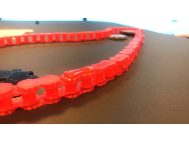 06d70910c1d3e0d97eb957f64f901b38_preview_featured.jpg Download free STL file Roller chain. Modular, with chain lock and sprockets • 3D printable object, hartvik90
