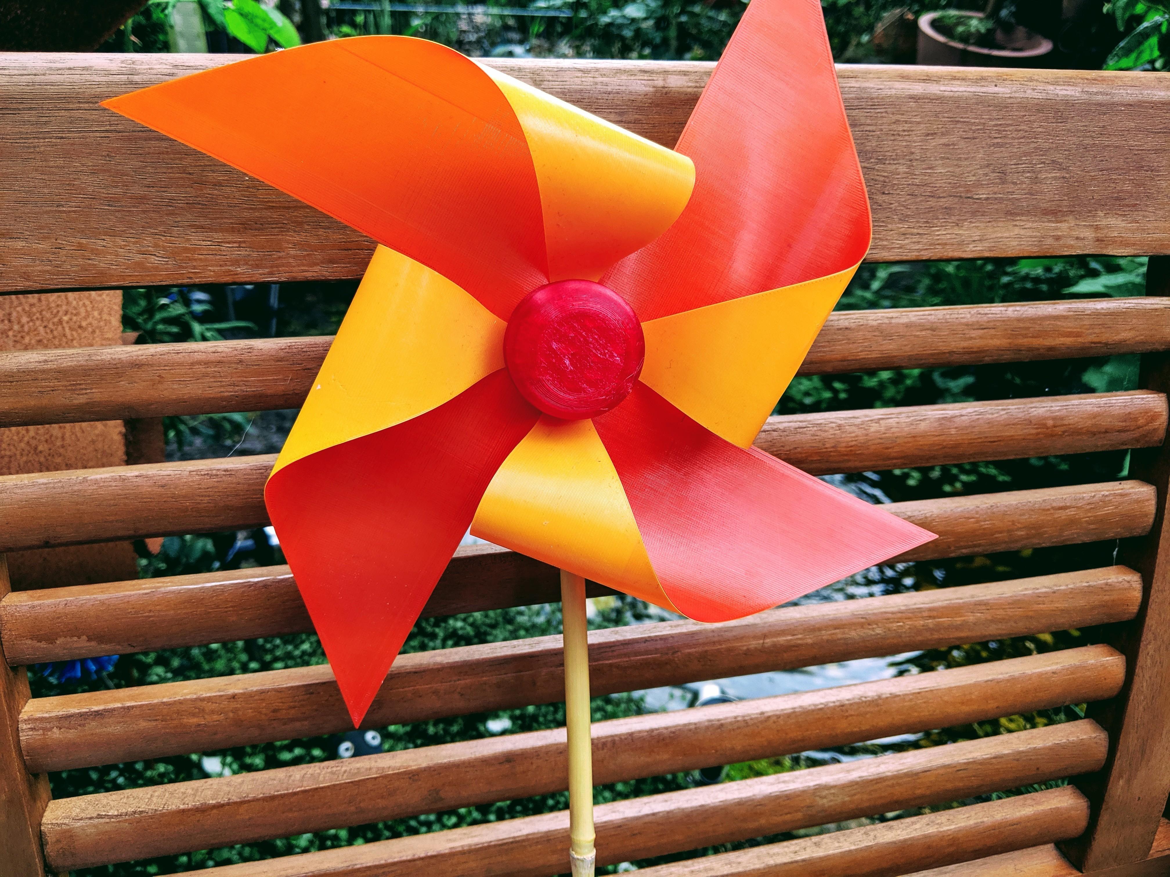 IMG_20190531_154336.jpg Download free GCODE file Windmill (Garden / Toy) • 3D print design, Wilko