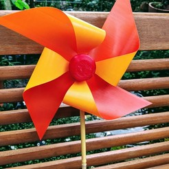 Download free STL file Windmill (Garden / Toy), Wilko