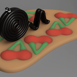"topRightSmall.png Télécharger fichier STL gratuit Une jolie ""Lakritzschnecke"" avec ""Happy Cherries"" • Objet imprimable en 3D, Wilko"