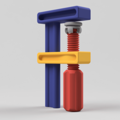 Download free 3D printing models Screw Clamp 01, Wilko