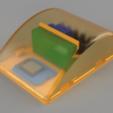 topRightTranslucent.png Télécharger fichier STL gratuit Wemos D1 Mini Fiche 04 • Modèle pour impression 3D, Wilko