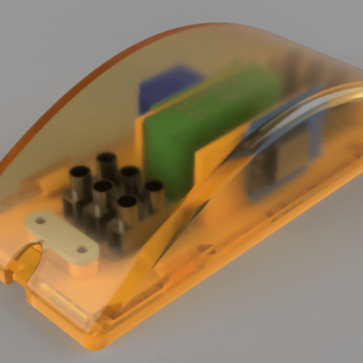 topRightTranslucent.png Download free STL file Wemos D1 Mini Plug 01 • 3D print template, Wilko