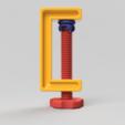 C-Clamp_02_2017-Aug-02_04-20-27PM-000_CustomizedView30448586923.png Download free STL file C-Clamp / G-Clamp 01 - 03 • 3D printing model, Wilko